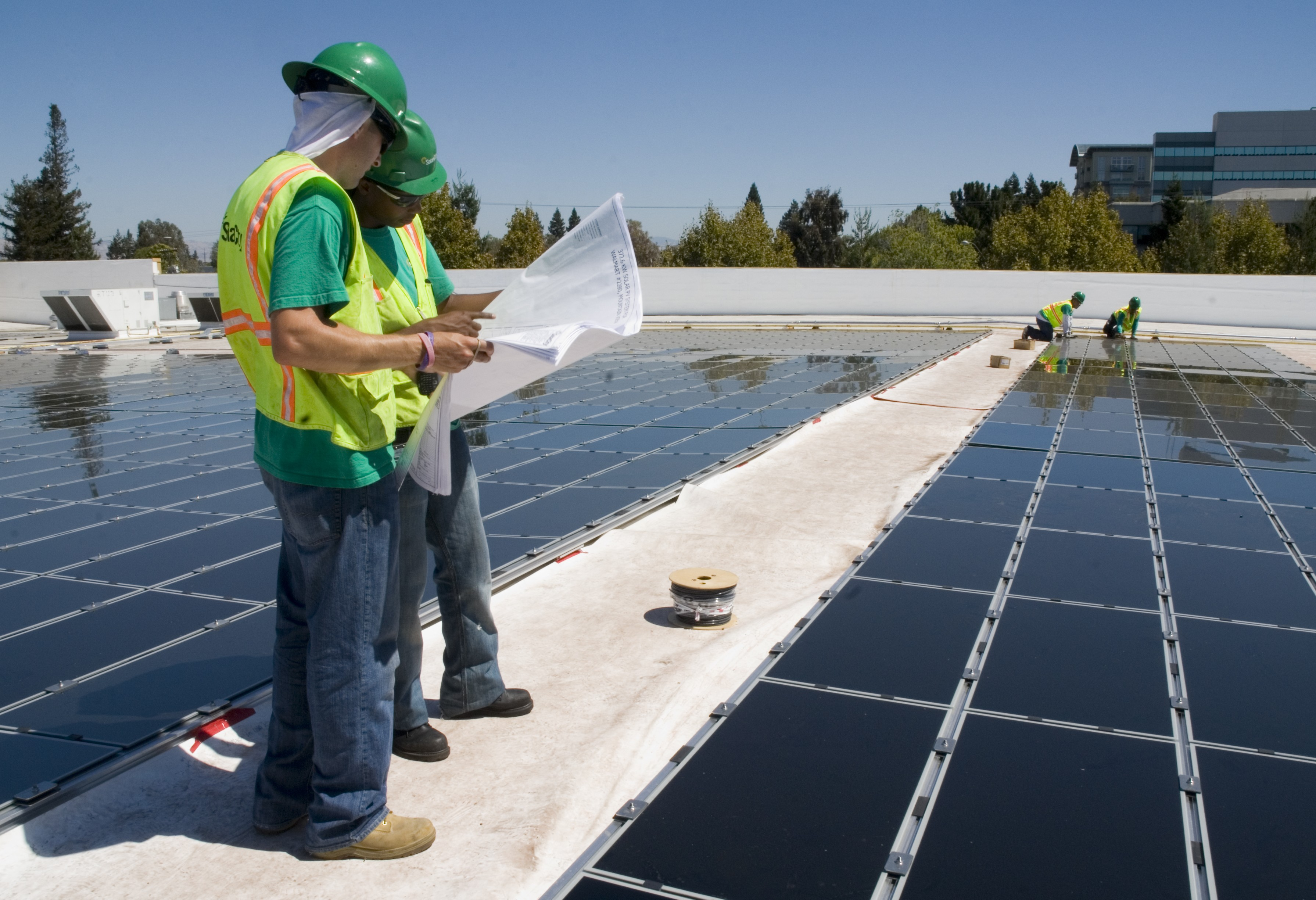 Solar green color recovery
