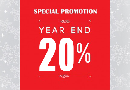 Year End New Year Promotion
