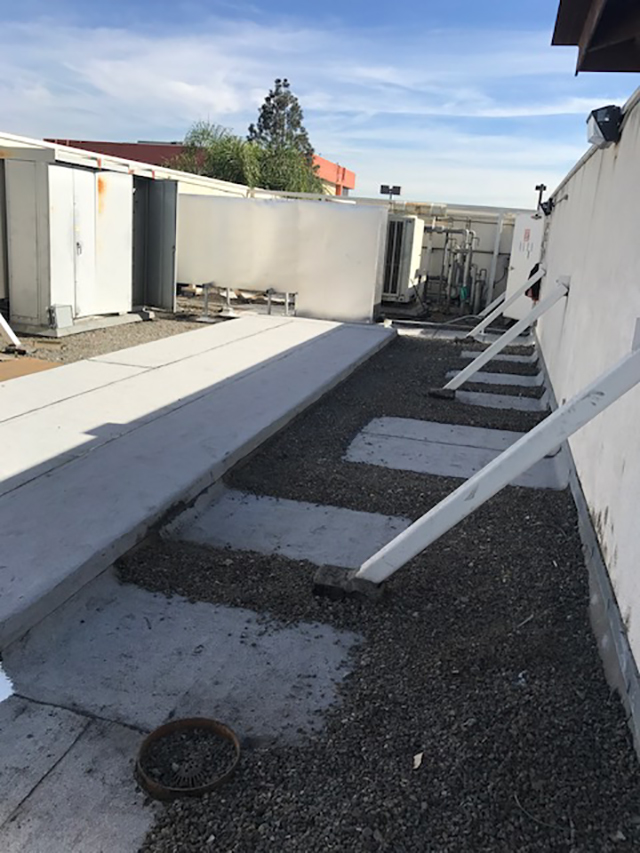Hospital BUR Roof Repair
