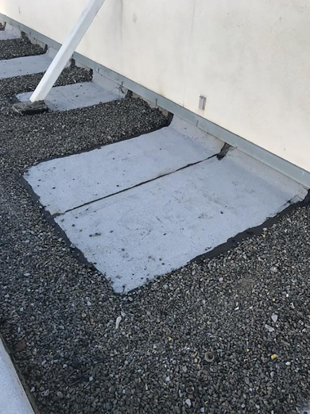 Repairing Roof In Hospital