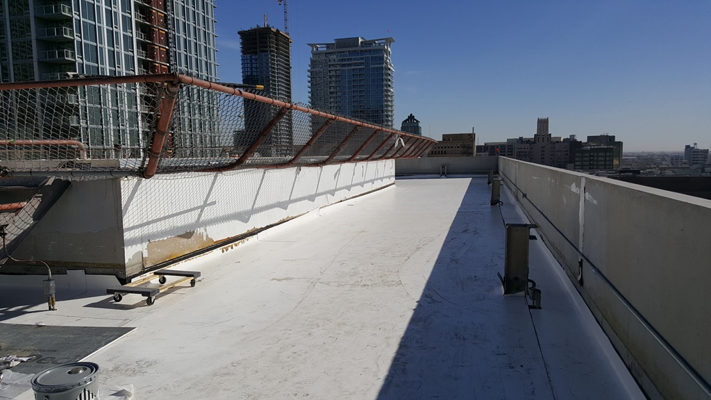 Skyline Hoa Downtown Los Angeles Ca Adco Roofing
