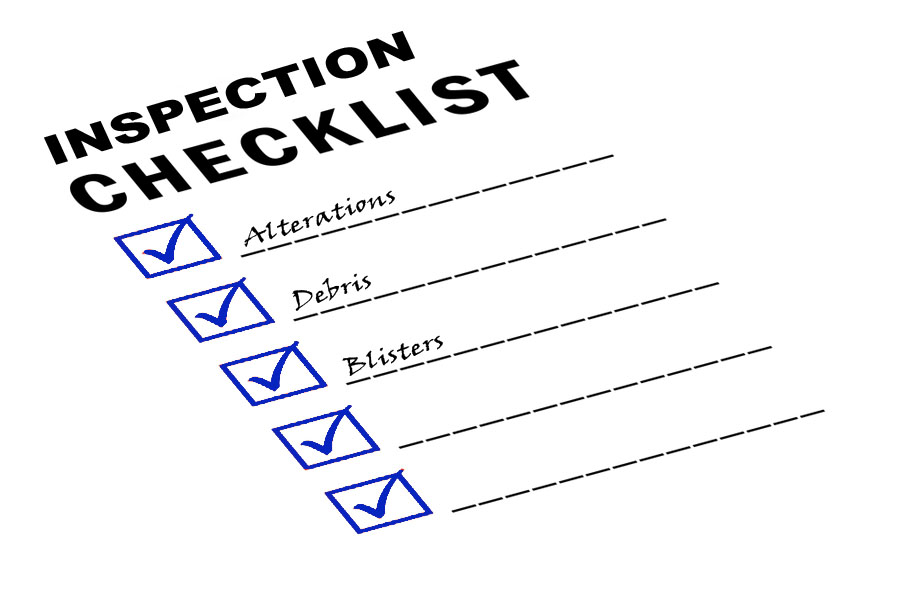 (Adco) Checklist for professional roof inspection