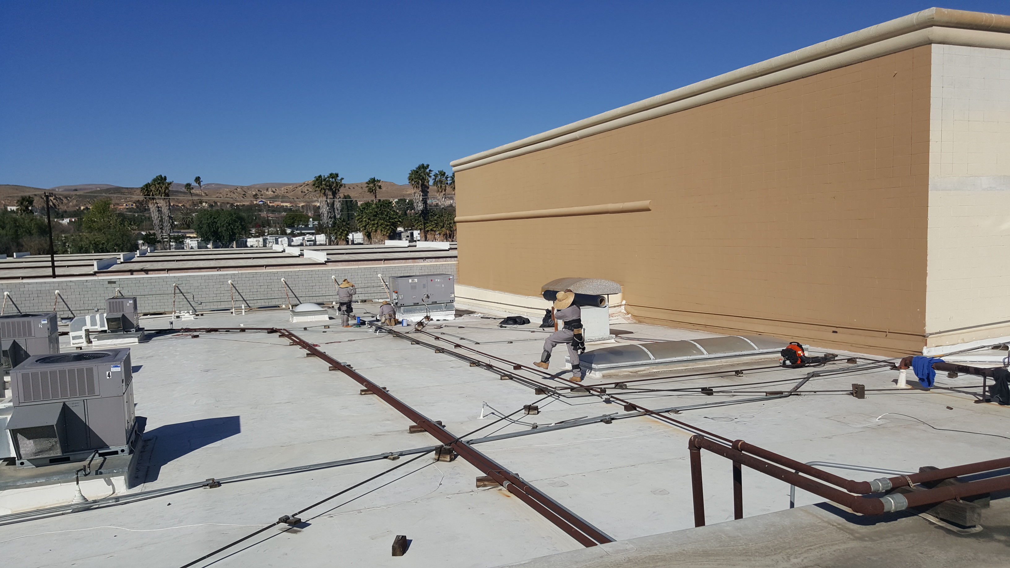 Mountain Gate Plaza Simi Valley Ca Adco Roofing Project
