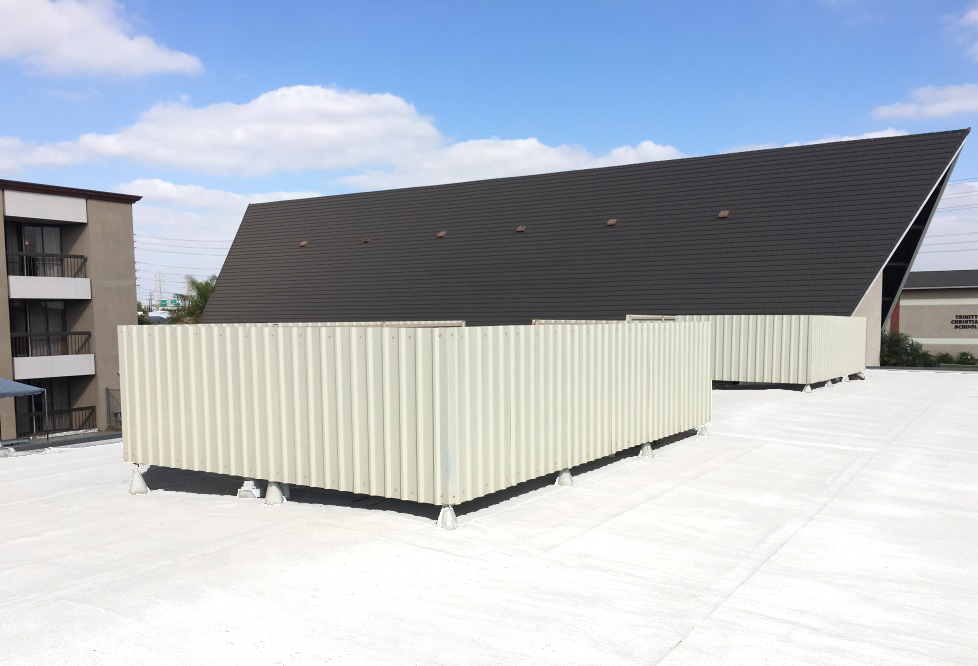 Cover Unsightly Rooftop Equipment With Roof Screens Adco