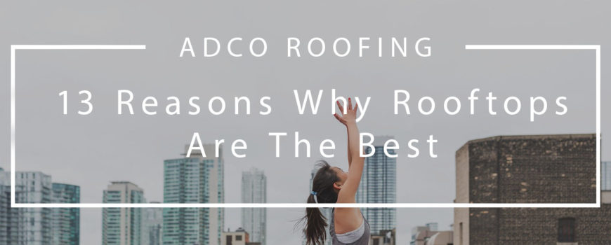 (Adco) 13 Reasons Why Rooftops Are The Best