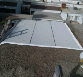 HOA roof edge repair tarzana