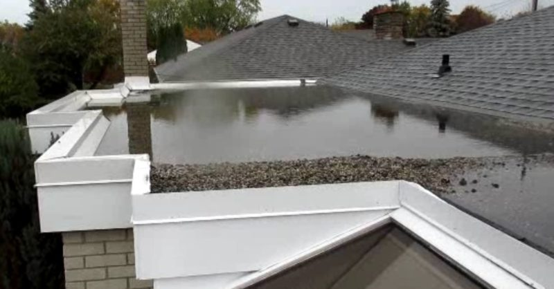 Flat Roof Drain System Pros And Cons Adco Roofing Waterproofing