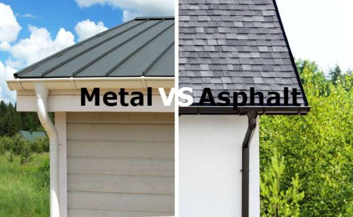Metal vs Asphalt Roof