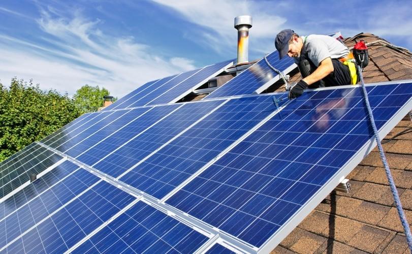 solar installation after solar ready work