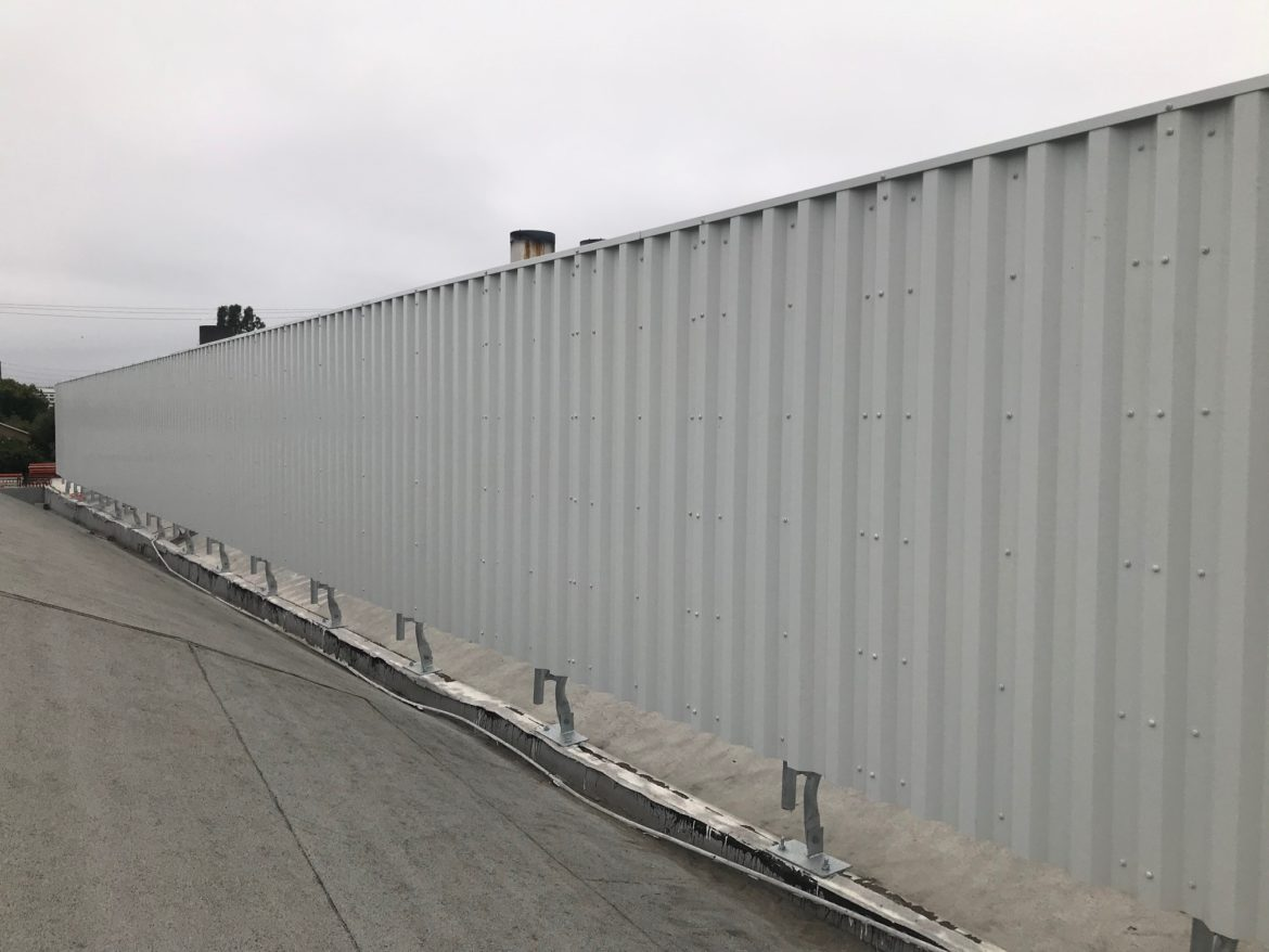 Roof Screen for a Crematory in Santa Ana