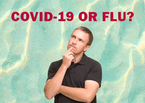 Covid-19 and Flu Differences
