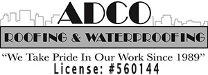 ADCO Roofing & Waterproofing Logo