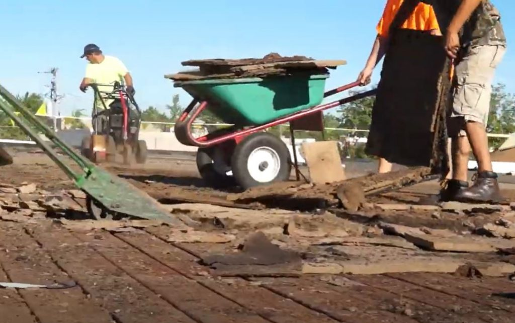 How to deal with tenants during roofing project